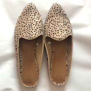 Universal Thread Brown Spotted Mules Women's 10